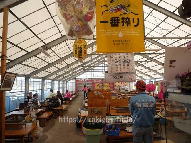 糸島の牡蠣小屋 服部屋