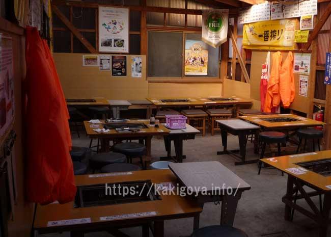 糸島の牡蠣小屋 日進丸